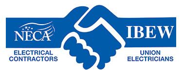 neca-ibew electricians logo