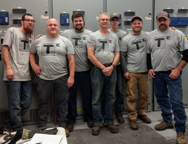 T-Squared Electrical, a family affair- 3 generations of electricians